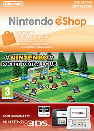 Nintendo Pocket Football Club eShop Cover Art