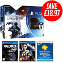 PlayStation 4 with Killzone: Shadow Fall, Call of Duty: Ghosts, FIFA 14 and PlayStation Plus 12 Month Membership PlayStation 4