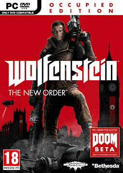 Wolfenstein: The New Order Occupied Edition PC Games Cover Art