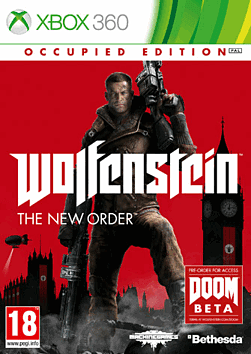 Wolfenstein: The New Order Occupied Edition Xbox 360 Cover Art