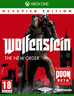 Wolfenstein: The New Order Occupied Edition Xbox One Cover Art