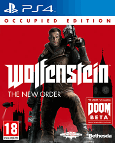 Wolfenstein: The New Order Occupied Edition PlayStation 4 Cover Art