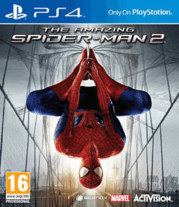 The Amazing Spider-Man 2 PlayStation 4 Cover Art