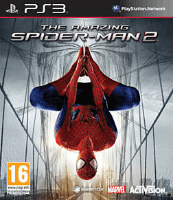 The Amazing Spider-Man 2 PlayStation 3 Cover Art