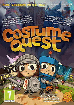 Costume Quest (with Grubbins on Ice Downloadable Content) PC Games Cover Art