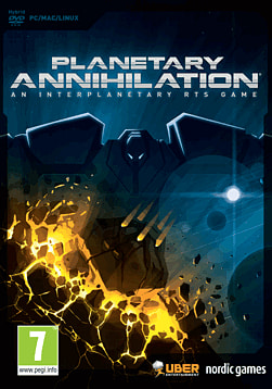 Planetary Annihilation PC Games Cover Art