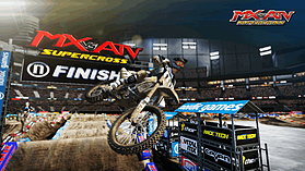 Mx vs. ATV: Supercross screen shot 2
