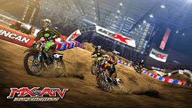Mx vs. ATV: Supercross screen shot 4