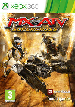 Mx vs. ATV: Supercross Xbox 360 Cover Art