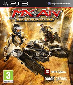 Mx vs. ATV: Supercross PlayStation 3 Cover Art