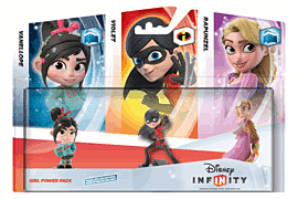 Disney INFINITY Girl Power Triple Pack Toys and Gadgets