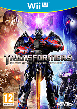 Transformers: Rise of the Dark Spark Wii U Cover Art