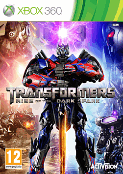 Transformers: Rise of the Dark Spark Xbox 360 Cover Art