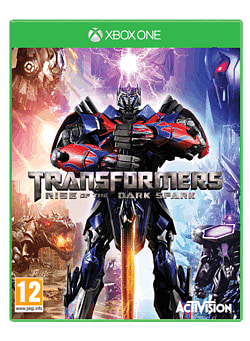 Transformers: Rise of the Dark Spark Xbox One Cover Art