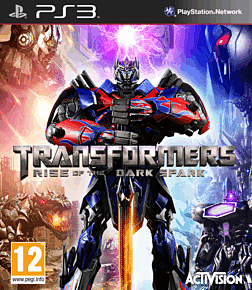 Transformers: Rise of the Dark Spark PlayStation 3 Cover Art