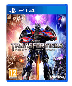Transformers: Rise of the Dark Spark PlayStation 4 Cover Art