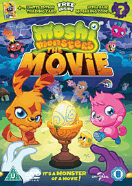 Moshi Monsters - Limited Edition with Trading Card and Moshling Code DVD