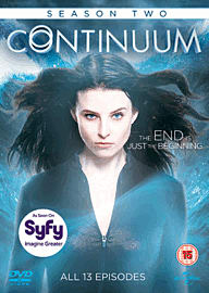 Continuum: Season 2 DVD