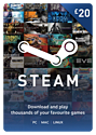 Steam Wallet Top-up £20 Steam Credit
