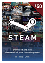 Steam Wallet Top-up £50 Steam Credit