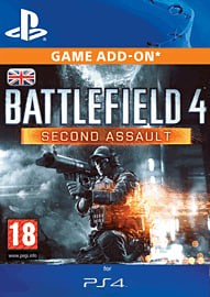 Battlefield 4: Second Assault (PlayStation 4) PlayStation Network Cover Art