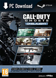 Call of Duty: Ghosts - Onslaught PC Games Cover Art