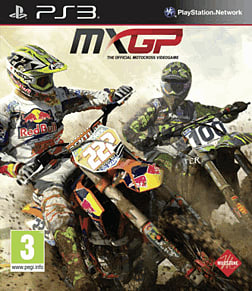 MXGP: The Official Motocross Videogame PlayStation 3 Cover Art