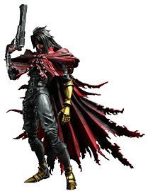 Final Fantasy VII Advent Children Play Arts Kai -Vincent Valentine Toys and Gadgets