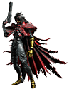 Final Fantyasy VII Advent Children Play Arts Kai -Vincent Valentine Toys and Gadgets