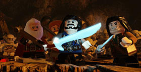 LEGO The Hobbit Videogame screen shot 1