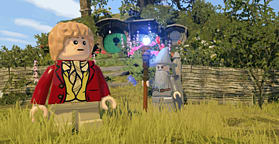 LEGO The Hobbit Videogame screen shot 5