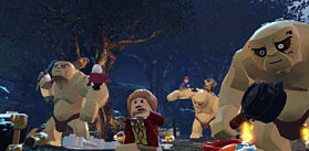 LEGO The Hobbit Videogame screen shot 3
