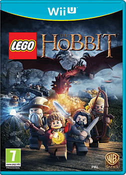 LEGO The Hobbit Videogame Wii U Cover Art