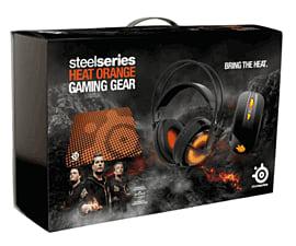 SteelSeries Heat Orange Bundle Box Accessories