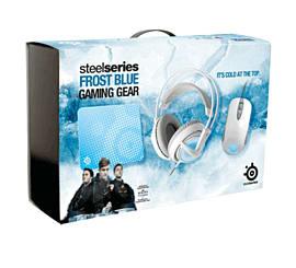 SteelSeries Frost Blue Bundle Box Accessories