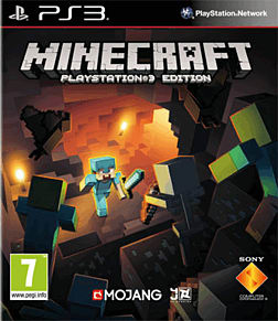 Minecraft PlayStation 3 Cover Art