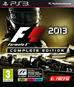 PS3 F1 2013 COMPLETE EDITION PlayStation 3 Cover Art