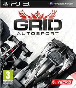 GRID Autosport PlayStation 3 Cover Art