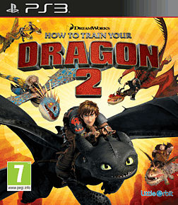 How to Train Your Dragon 2 PlayStation 3 Cover Art