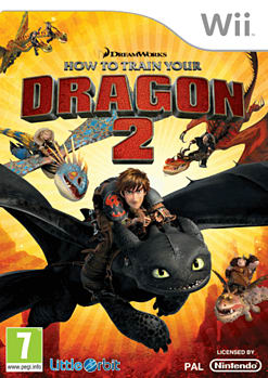 How to Train Your Dragon 2 Wii Cover Art