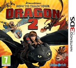 How to Train Your Dragon 2 3DS Cover Art