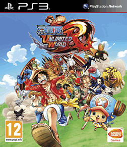 One Piece Unlimited World Red: Straw Hat Edition PlayStation 3 Cover Art