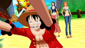 One Piece Unlimited World Red: Straw Hat Edition screen shot 1