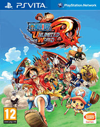 One Piece Unlimited World Red: Straw Hat Edition PS Vita Cover Art