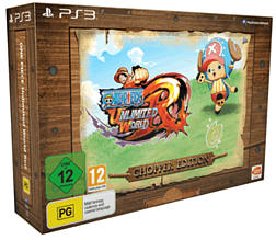 One Piece Unlimited World Red Chopper Edition - Only at Game PlayStation-3 Cover Art