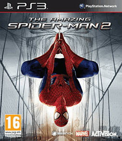 The Amazing Spider-Man 2 Web Threads Edition PlayStation 3 Cover Art
