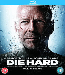 Die Hard Quadrilogy Box-Set Blu-Ray