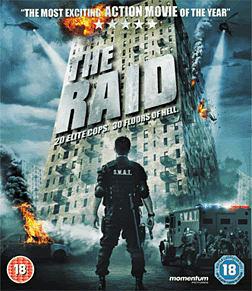 The Raid Blu-ray