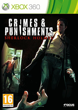 Crimes & Punishments Sherlock Holmes Xbox 360 Cover Art
