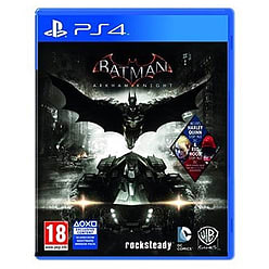 Batman: Arkham Knight - Red Hood Edition - Only at GAME PlayStation 4 Cover Art